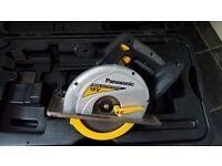 "Panasonic Cordless Heavy-Duty 18 Volt 6-1/2"" Metal Cutting Saw"