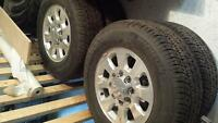 Brand new LT265/70R18 GMC/ Chev stock tires & rims
