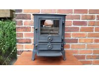 Fully reconditioned Stovax Brunel Stove