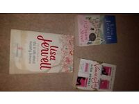 Lisa Jewell collection of three fiction books/novels (paperback)
