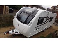 Swift Cornice 19/4 2015 Tourer • 4 Berth •Fixed Bed end Washroom