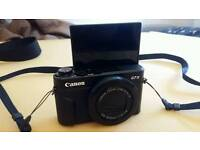 Canon G7X mark II new 1 month old