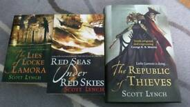 Scott Lynch books