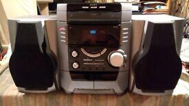 Sony HCD-BX5 3-Disc CD Stereo System