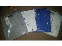 Mens Medium Ralph Lauren Polo Shirts X4