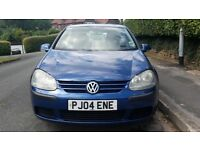 Volkswagon Golf 1.4 fsi for sale. MOT until April 2017. 5 doors, sunroof, good condition for age.