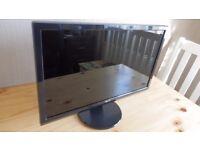 "Acer 22"" widescreen monitor."