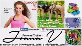 Personal Trainer / Pilates Classes / Weight Loss / Bishopbriggs, Springburn, Robroyston, Glasgow
