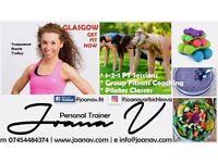 Personal Trainer / Pilates Classes / Weight Loss / Bishopbriggs, Springburn, Robroyston, Glasgow