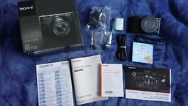 Sony Cyber-shot RX100 20.2MP Digital Camera