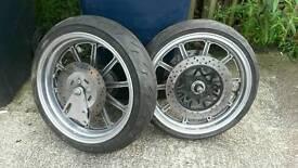 Super moto wheels