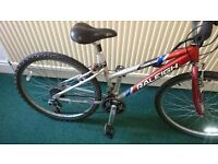 Mens Raleigh Transcend 7000 series Aluminium Bike in good condition! ONO