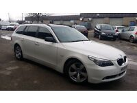 X police bmw 530d auto in white
