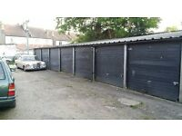 Safe locked-up garages with spacious access next to London Road (SW16 4LW, Norbury train station)