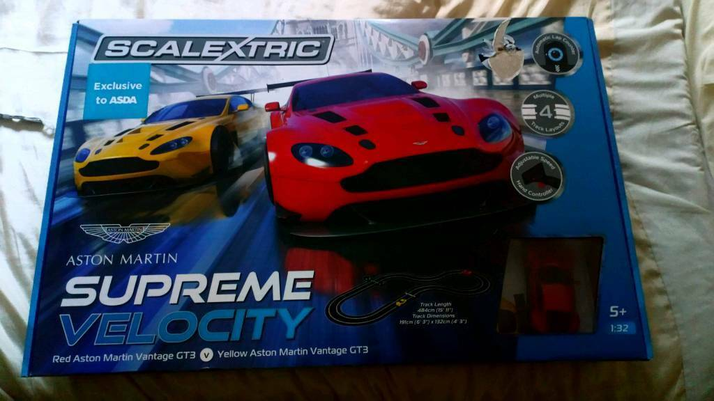 Scalextric Supreme Velocity Aston Martin Set In Poole Dorset Gumtree