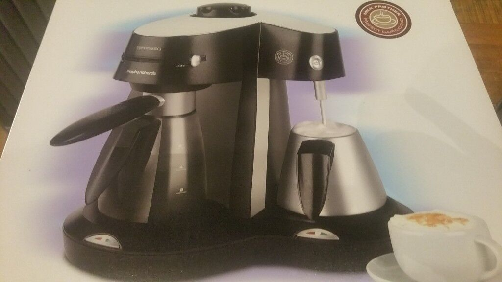 Coffee Maker With Milk Frother Brand New In Box Morphy Richards In Chryston Glasgow Gumtree