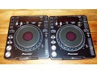 2x Pioneer CDJ1000 MK3 / CDJ 1000 MK3 + Behringer DDM4000 Pro DJ + 50GB HDD of House Tunes