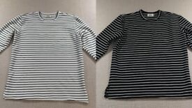 ceaebfac Richie Le Collection Stripe Long Sleeve Tops (Supreme, Off White, Yeezy,  Jordan