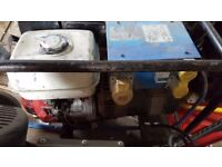 Honda GX270 petrol generator, 110V excellent condition, first time starter
