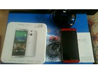 HTC One M8 Red unlocked