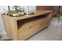 Light wood TV unit - Good condition