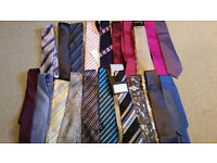 *New* collection of 48 silk ties