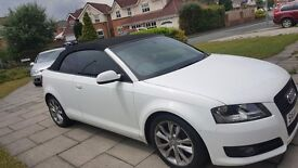 WHITE AUDI CONVERTABLE ON SALE