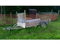 Approx 10x5 ft trailer with Galvanised chasis