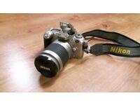 NIKON F55 35mm Autofocus camera w/ 28-100 3.5-5.6G AF zoom lens