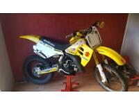 Suzuki rm 125cc 1992