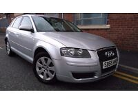 2006 Audi A3 1.9 TDI Sportback 5dr Hatchback, MOT TILL OCTOBER 2017 £2,595 p/x welcome