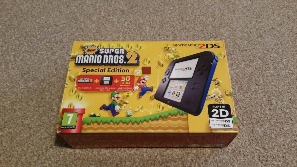 Nintendo 2ds super mario bros 2 edition +8 games | in Stoke-on-Trent,  Staffordshire | Gumtree