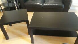 Ikea tables (black)