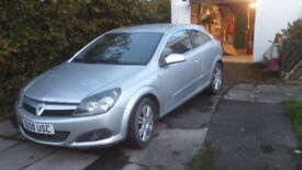 Vauxhall Astra Design 1.6 Sxi Coupe '08 Full Service, 12 months MOT