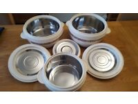 Set of 3 Hot Pots Insulated Food Warmers