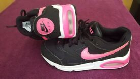Nike air max girls trainers.