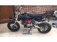 Yx140 supermoto pit bike