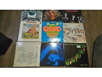 Collection of vinyl records ,all listed