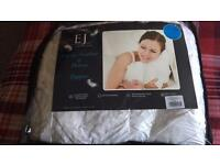 Brand new king size goose feather mattress topper