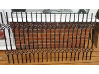 Iron staircase spindles