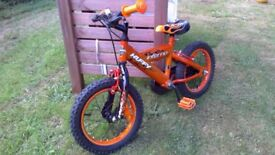 "Boys 14"" Huffy Inferno Bike is great condition."