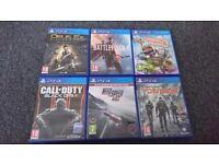 Six PS Games