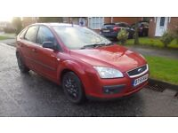 Ford focus automatic 1.6 low mileage 74k, 12 month Mot very full service history clean cheap car