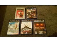 Playstation 2 Games Bundle - PS 2