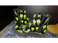 T.u.k creeper boots size 8 woman's