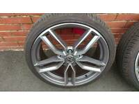 Vw/audi 19 inch rims and tyres