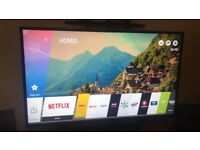 "LG 49"" ULTRA HD 4K it's come with box and remote"