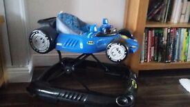 Baby Walker - Kids Embrace Batman Batmobile Walker