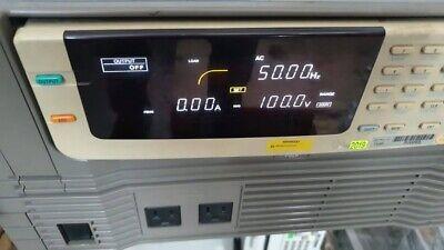 Kikusui Electronics Pcr 500l Ac Power Supply Pcr500l