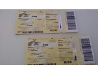 AEROSMITH Concert Tickets (2) - June 23 - Italy Florence